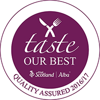 Awarded Taste Our Best quality Assured status